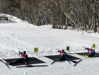 Victorian Biathlon championship 2018 - day 2