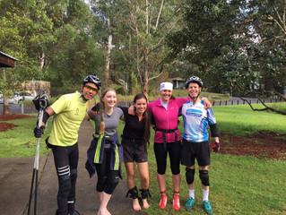 Sunday Biathlon Training - Sydney - June 11, 2017