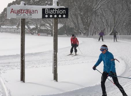 Last day of Master's Biathlon camp