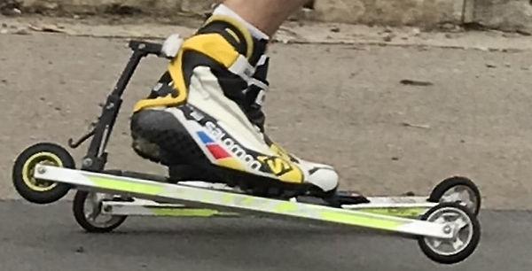 rollerski brake