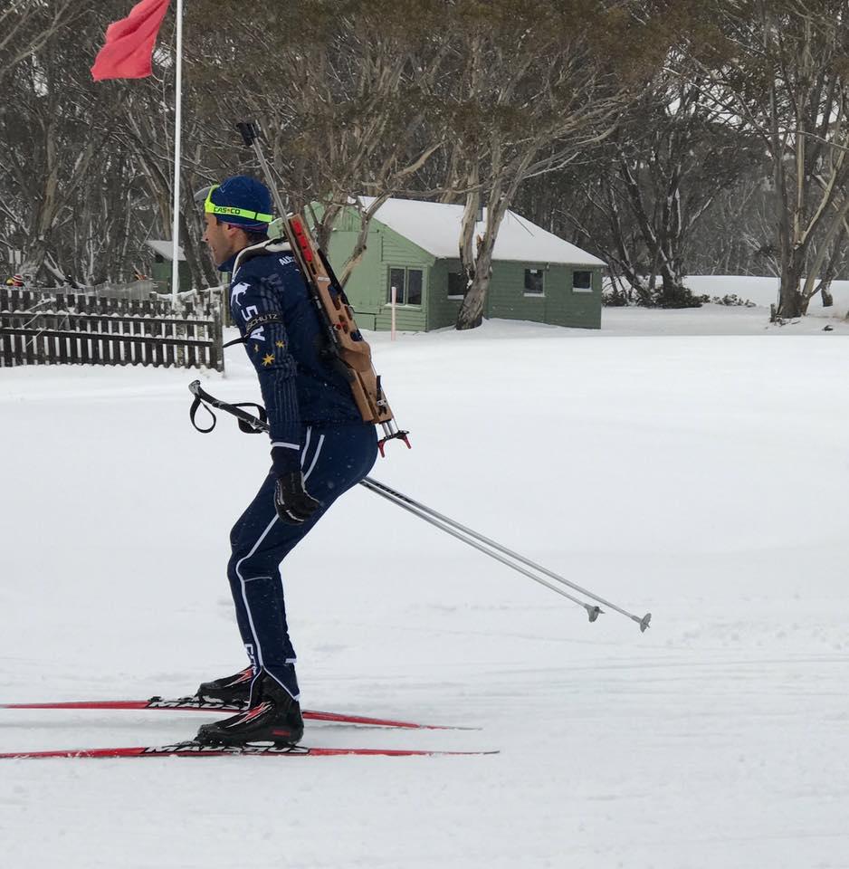 Nour skiing
