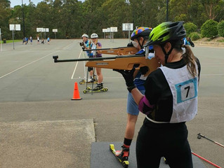 Summer Laser Biathlon series round 1