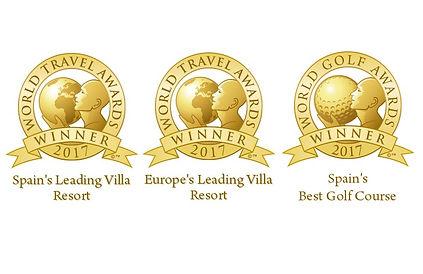 Awards won by Las Colinas Golf resort