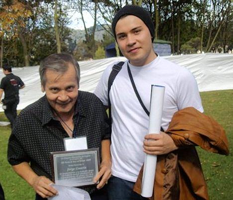 Con el Maestro Jorge Guarín