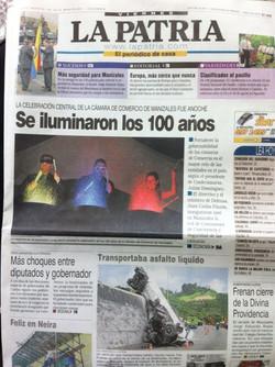 Show 100 años CCManizales 2013