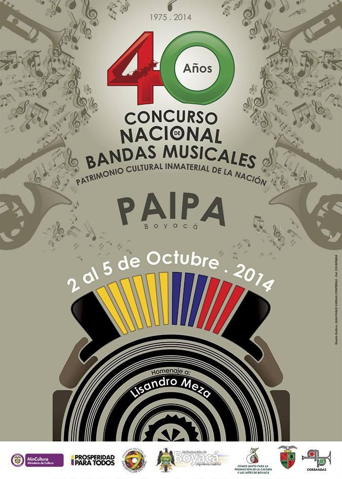 40 Concurso Nacional de Bandas