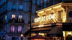 Cafe Le Dome, Paris, France