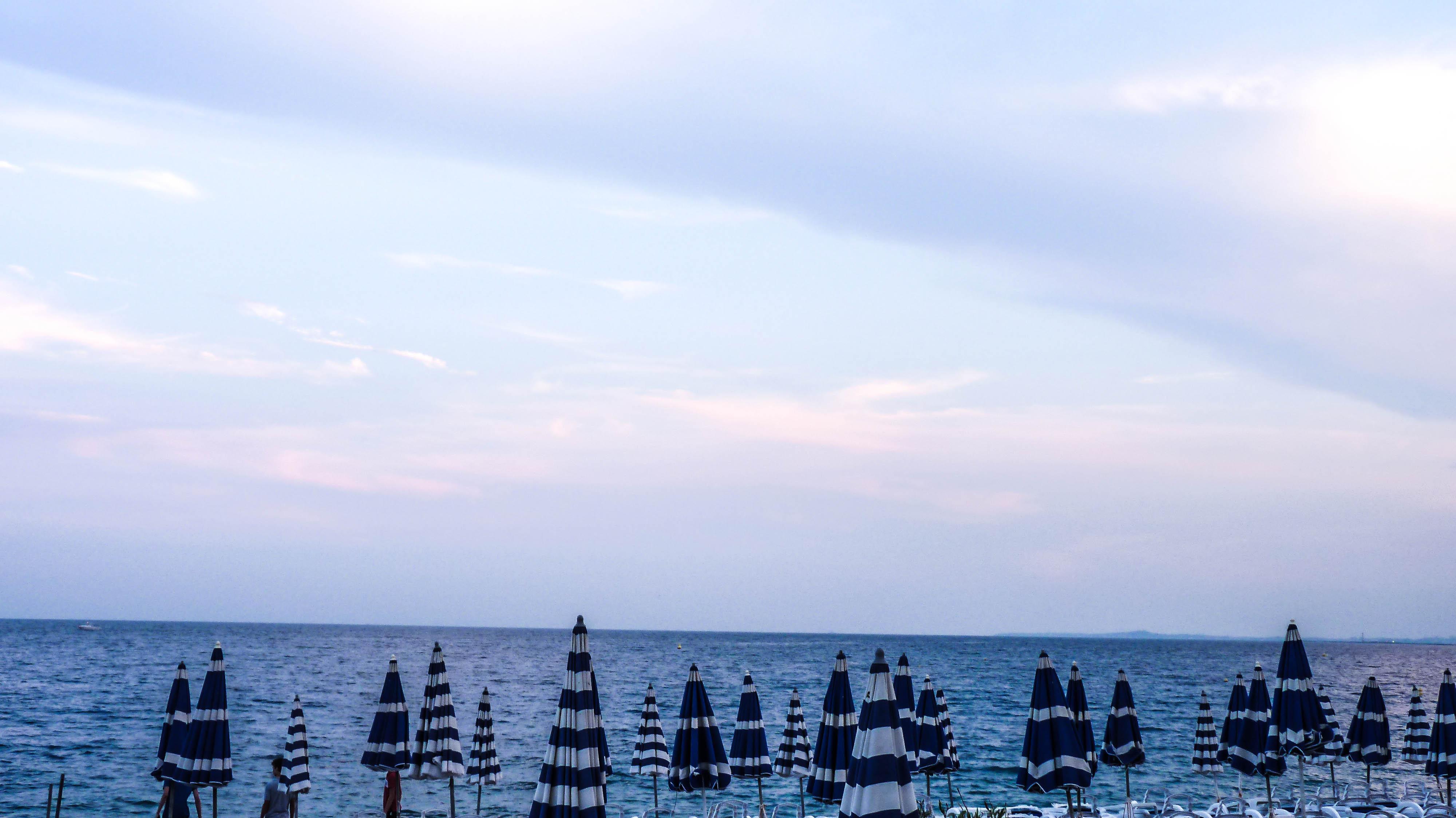 Umbrellas, Nice, France