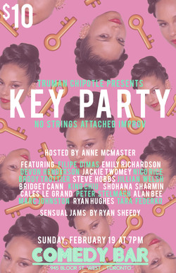 KEY PARTY Poster