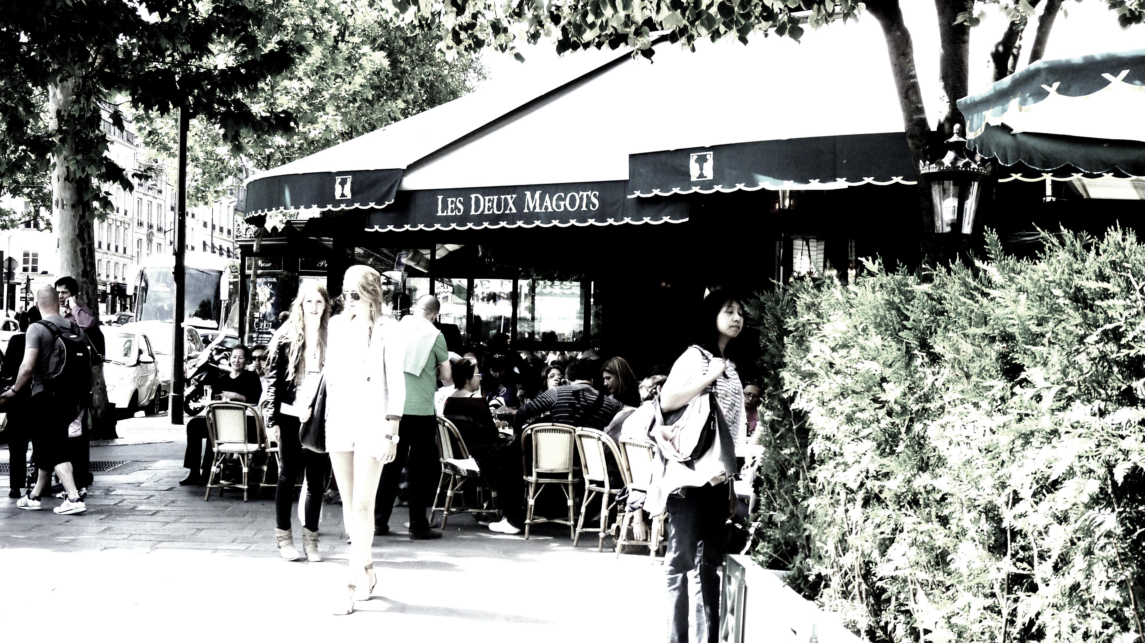 Les Deux Magots, Paris, France