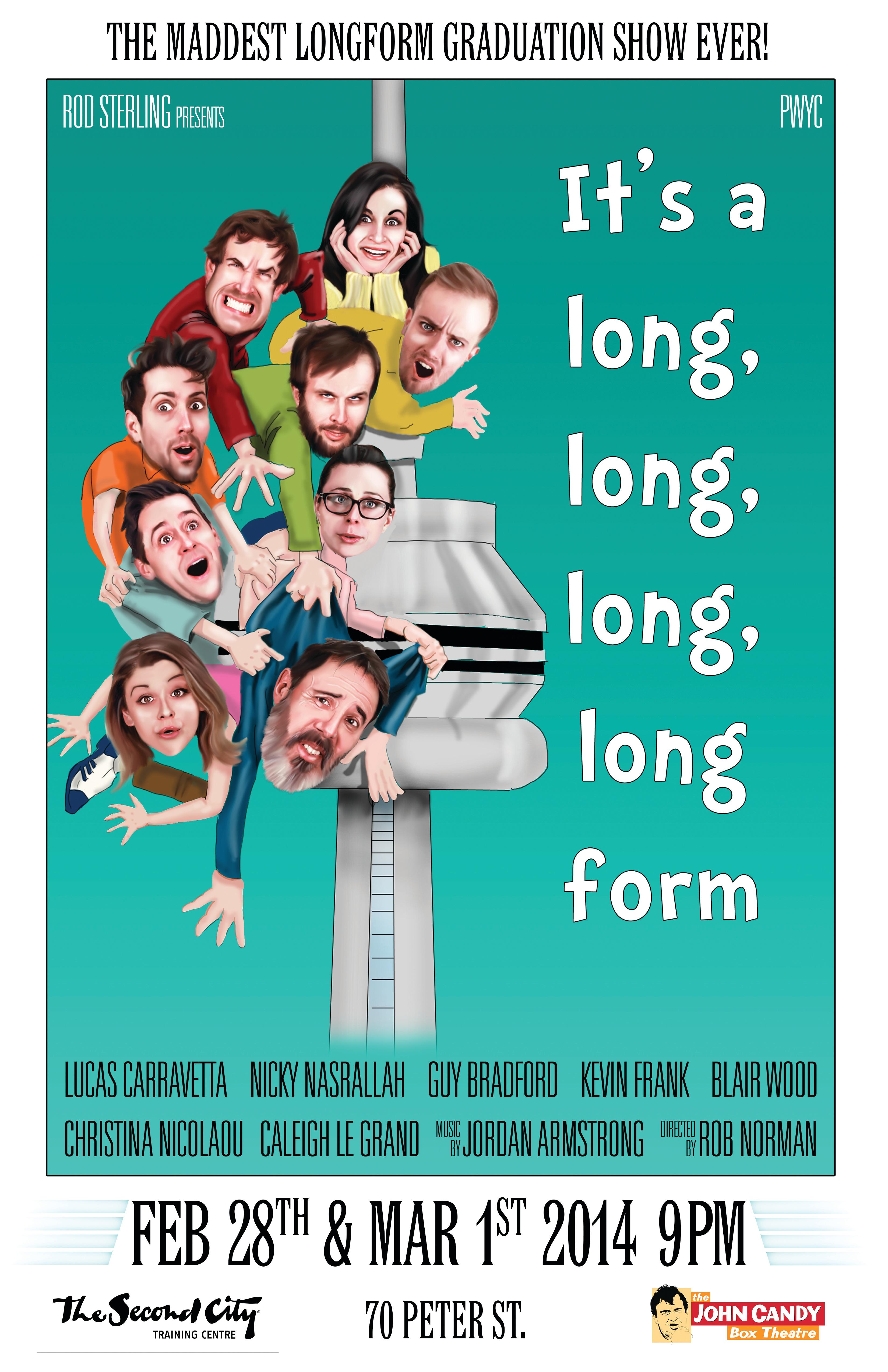 Longform Improv Show Poster