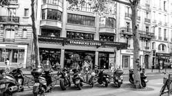 Starbucks, Paris, France