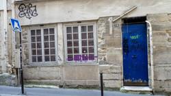 La porte blue, Paris, France