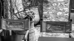 Audrey & Marilyn, St Paul de Vence