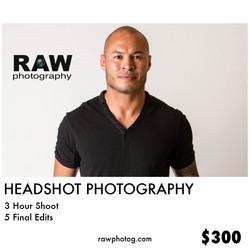 Headshot Flyer