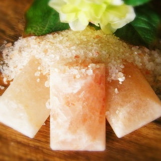 Himalayan Salt Crystal Bath Bar Unscented