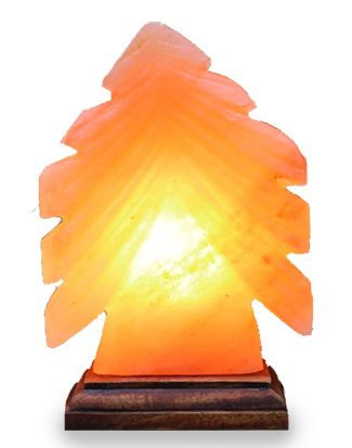 Xmas Tree Salt Lamp