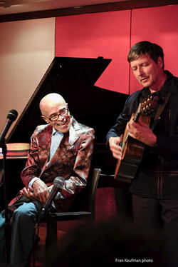 With Jon Hendricks at Mintons