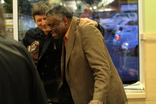 With Mulgrew Miller at our duo gig