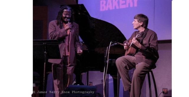 With Andy Bey at the Jazz Bakery