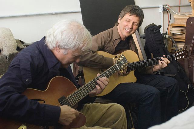 With Gene Bertoncini