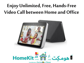 Unlimited Free Hands-Free Video Call between Home and Office