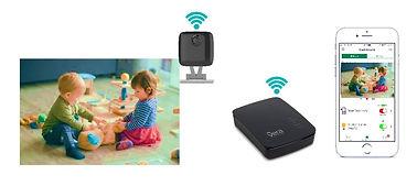 VeraEdge and VistaCam for Home Monitorin