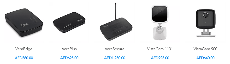 Vera Products for Smart Home Automation