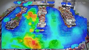 Heat Map Video Analytics