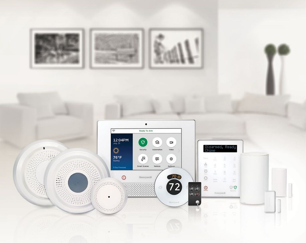 Honeywell Lyric Controller and accessories