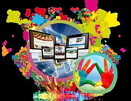Eyecatching website designs