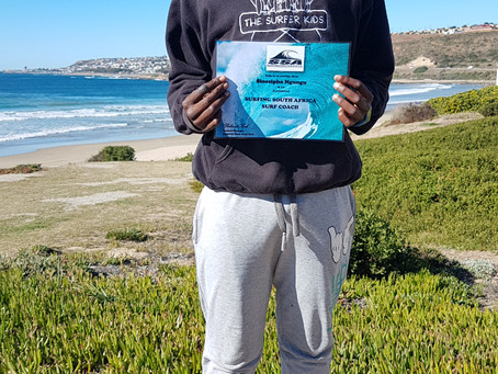 Surf Coach Earns Qualification