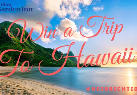 CLOSED: Win a 7 Night Hawaii Vacay at the New Hilton Garden Inn Kauai Wailua Bay!