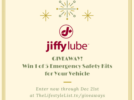 Win a Jiffy Lube Emergency Kit for Your Car