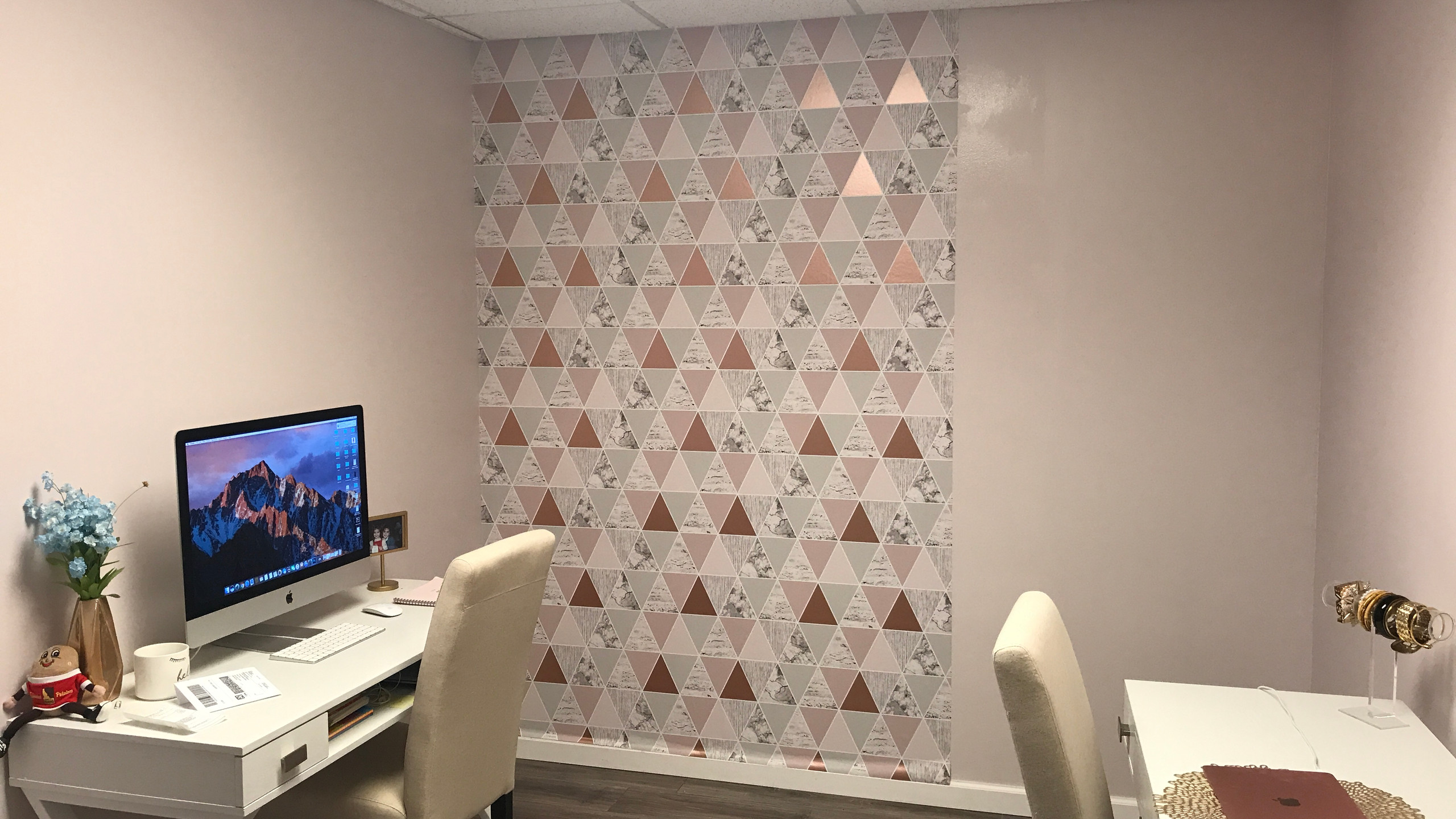 The Lifestyle List Office Makeover