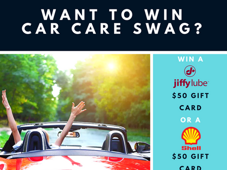 Win a $50 Jiffy Lube or Shell Gift Card!