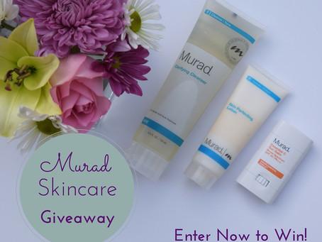 CLOSED: Murad Skincare Giveaway