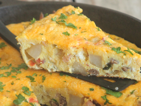 National Egg Day! Celebrate with The Ultimate Breakfast Frittata