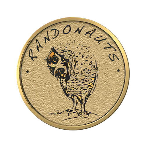 SOLD OUT!!! LIMITED EDITION: Randonauts Gold Pin