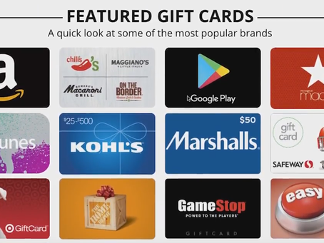 Holiday Shopping Tips: Why Gift Cards Make the Best Gifts