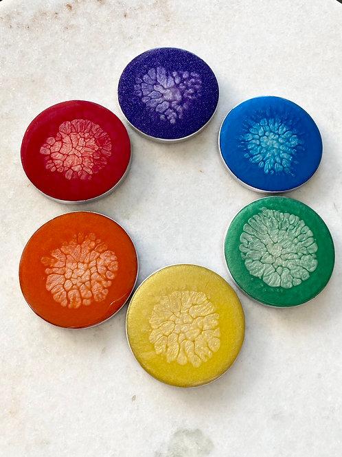 Rainbow Coaster Set of 6