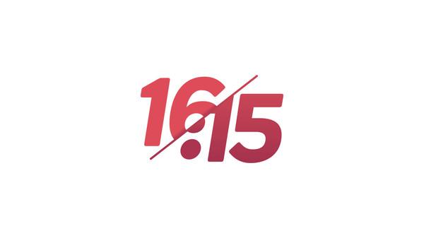 16:15 Logo