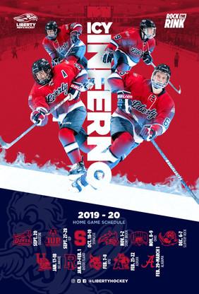 Liberty Flames Hockey Concept