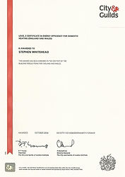 Energy Efficiency Certificate