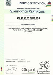 Heat Pump Qualification Certificate