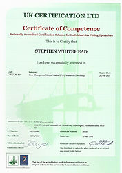 LPG Competence Certificate