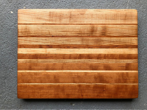 Oak & Maple Solid Wood Cutting Board