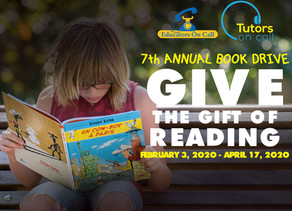 7th Annual Book Drive:  Spread the Joy of Reading & Encourage Young Minds to Dream