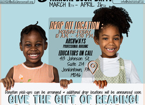 Our 6th Annual Book Drive is Here!