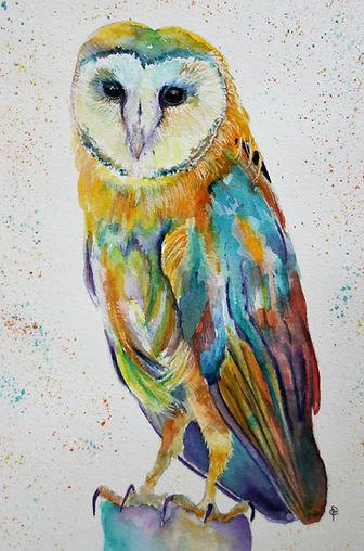 Christine Purdy RAINBOW OWL.jpg